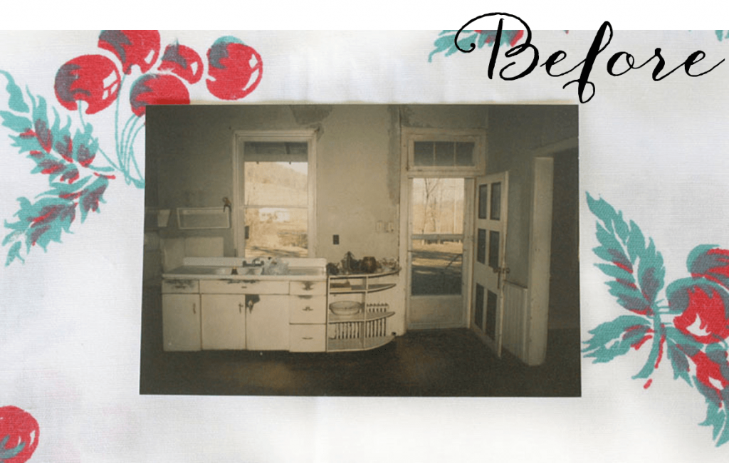 Vintage Kitchen - Before Photo